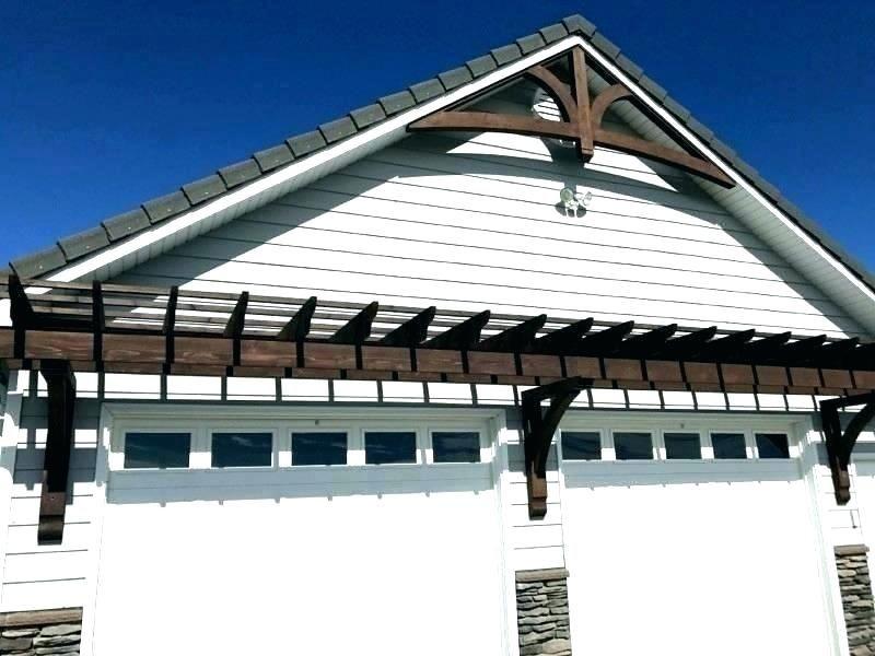 trellis over garage door pergolas pergola with wooden ...