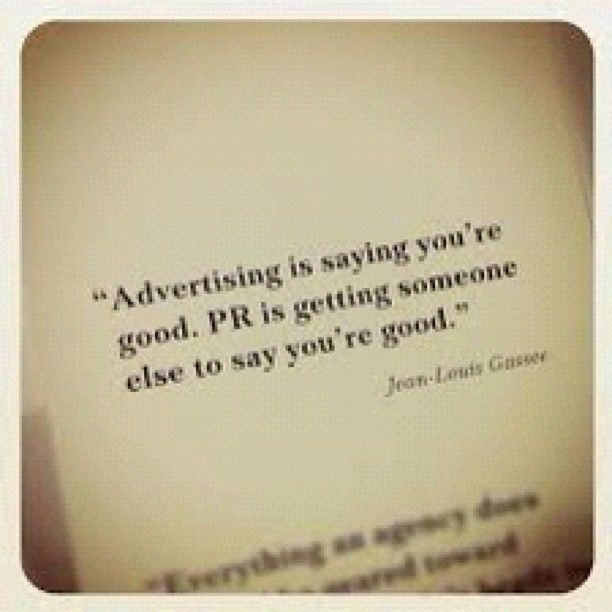 Advertising Versus Public Relations ThatS Our Job And We Love It