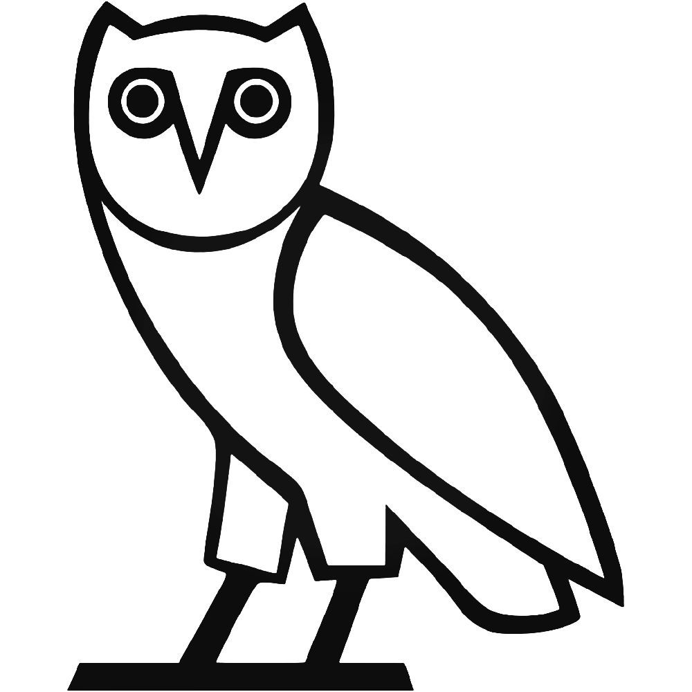 Ovoxo owl drake vinyl decal sticker ballzbeatz com