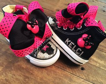 0b122ebd2e19 Adorn with Minnie Mouse Hot Pink Personalized by TinleighsTrinkets ...