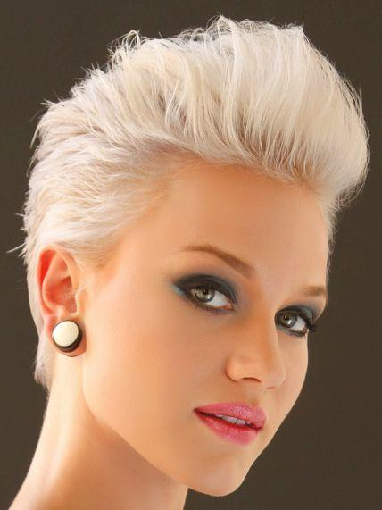 Blonde Kurzhaarfrisuren