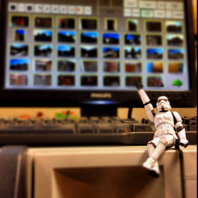 Stormtrooper sur ma tireuse !