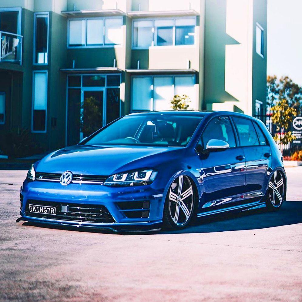 Lapiz Blue Golf 7 R Volkswagen Golf Volkswagen Vw Cars