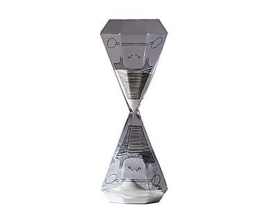 Clessidra in vetro soffiato il forzuto - 26x10 cm