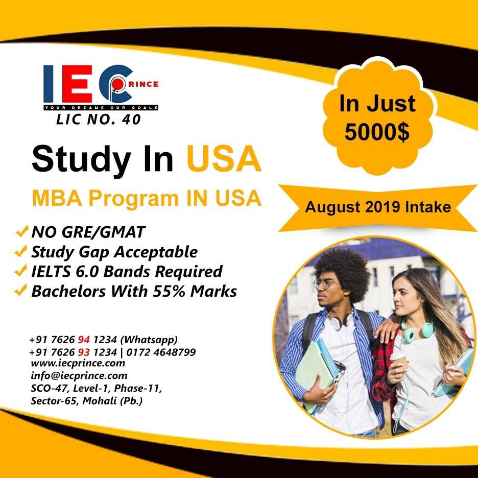 Study In Usa In Just 5000 Gmat Gmat Study Ielts