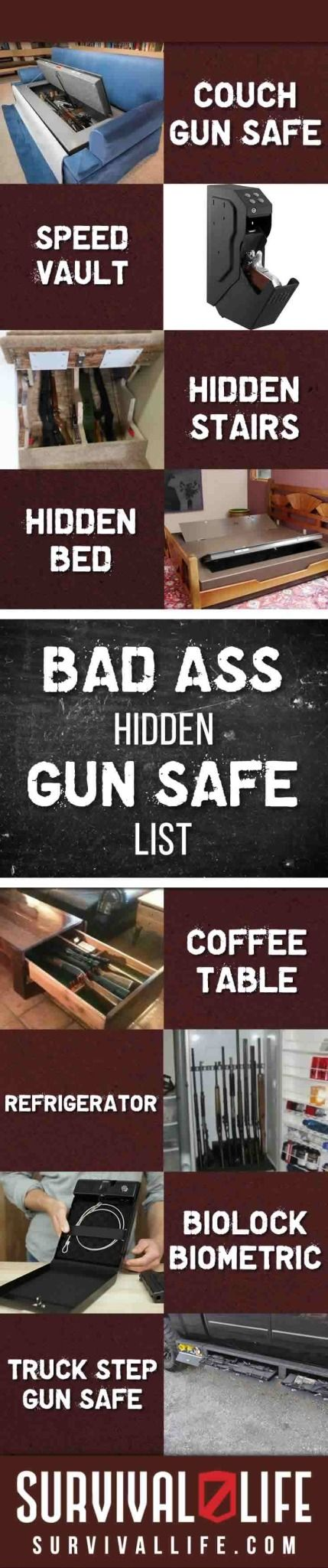 Badass Hidden Gun Safe List | Survival Life