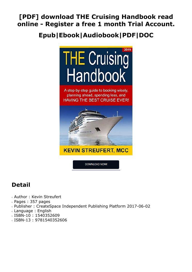 Click Here Https Downloadfree Pdf Ln9wnb Blogspot Com Download 1540352609 Pdf Free Download The Cruising Handbook Trial Eb Audio Books Ebook Reading Online
