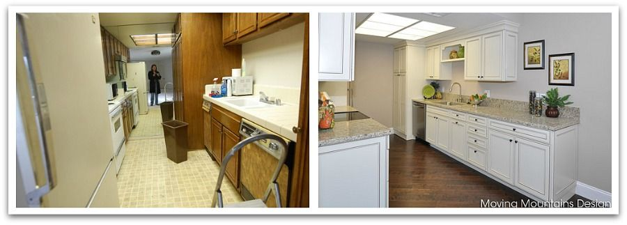 Los Angeles Condo Kitchen Makeover Before and After Photos | Ideas ...