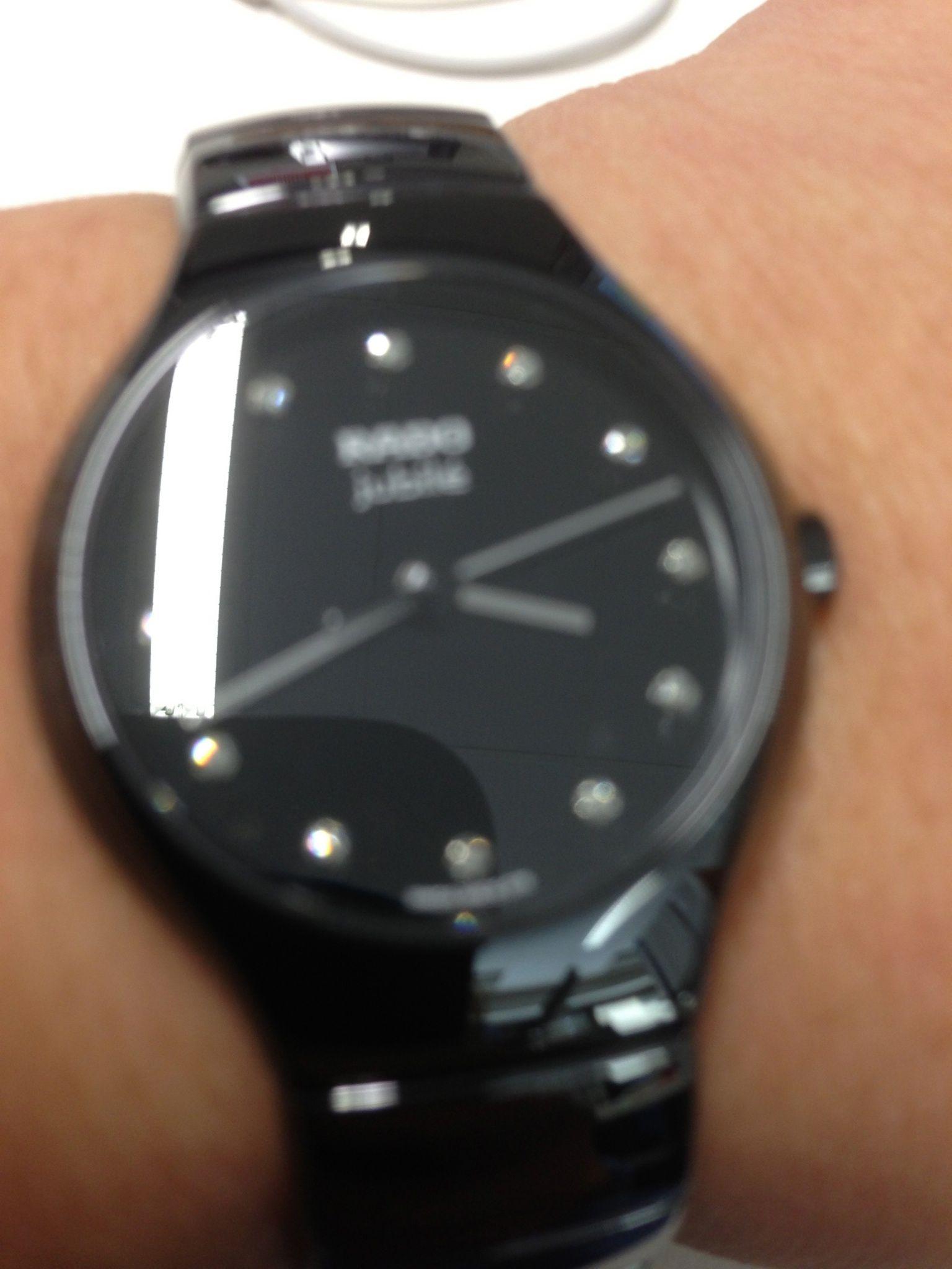 Rado True Jubile 12 Diamonds Samsung Gear Watch Smart Watch Wearable