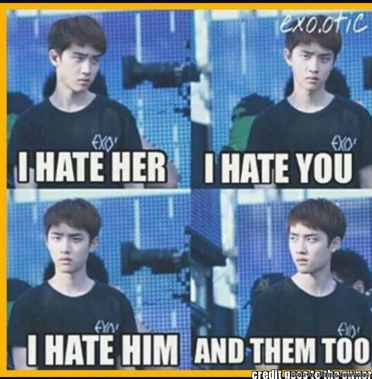 Meme Center   allkpop   K-POP   Exo memes, EXO, Kpop exo