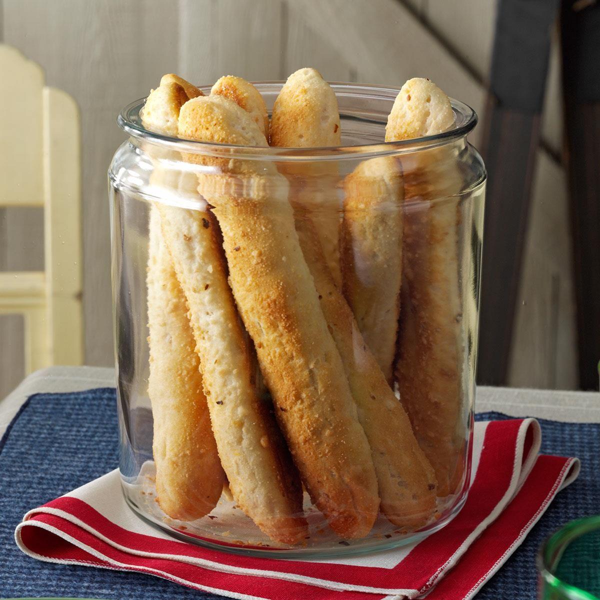 Savory BiscuitBreadsticks Recipe Savoury biscuits