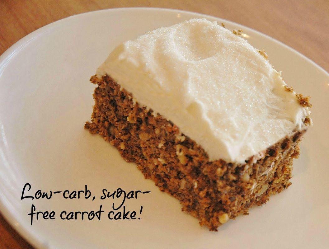 Low Carb Carrot Cake Low carb carrot cake, Sugar free