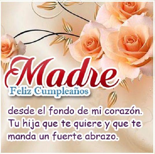 Bonitas Tarjetas De Feliz Cumpleaños Para Una Madre Feliz Cumpleaños Mamá Frases De Feliz Cumpleaños Frases De Feliz Cumpleaños Mamá