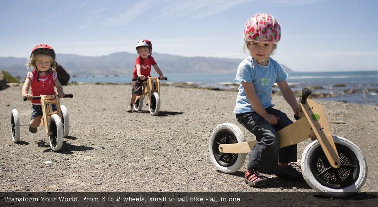 Wishbone Bike 3 In 1 Learn To Walk Ride Balance Free