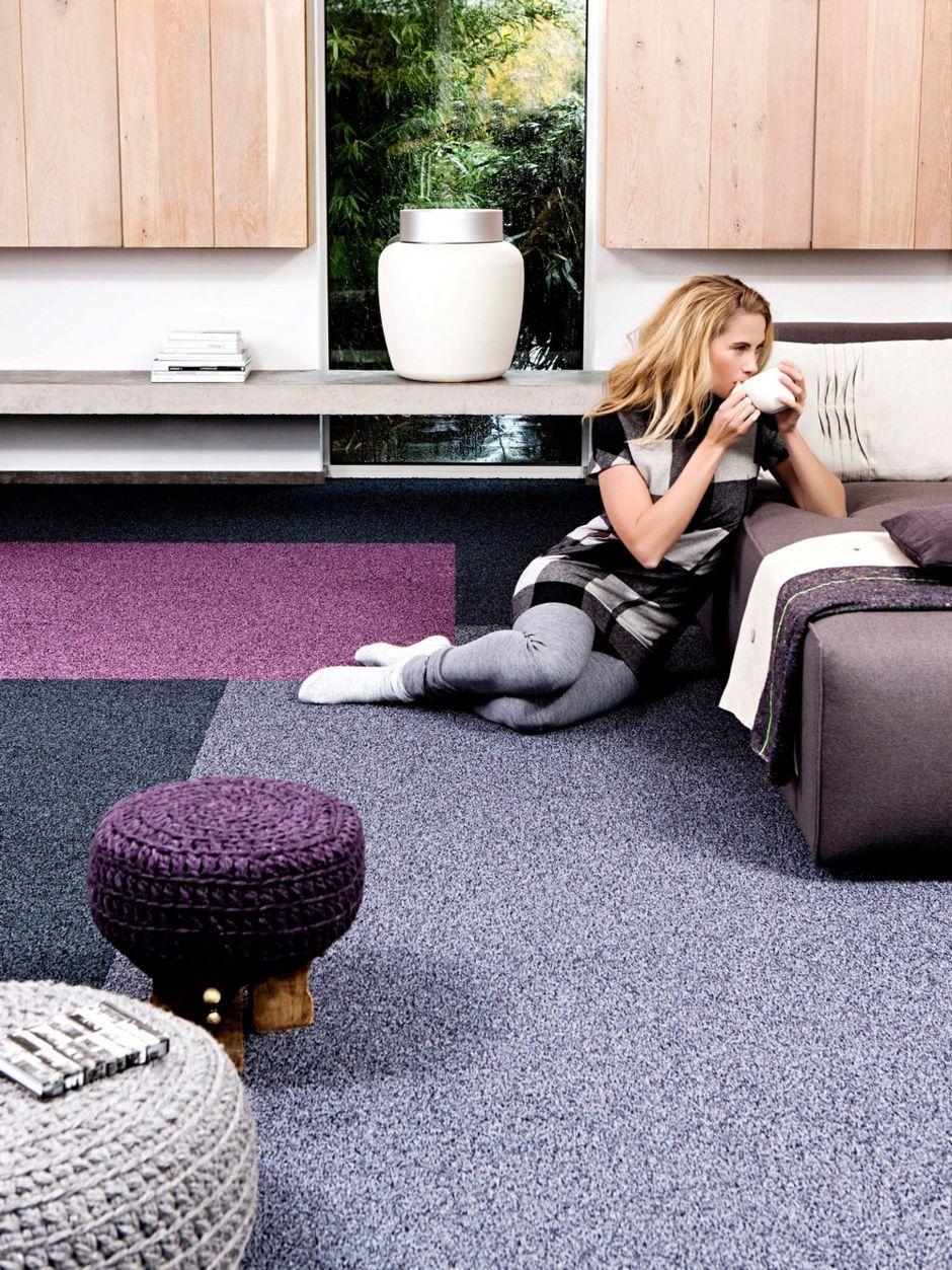 Lila Gekonnt Eingesetzt Schöne Teppiche Wohn Schlafzimmer Teppich