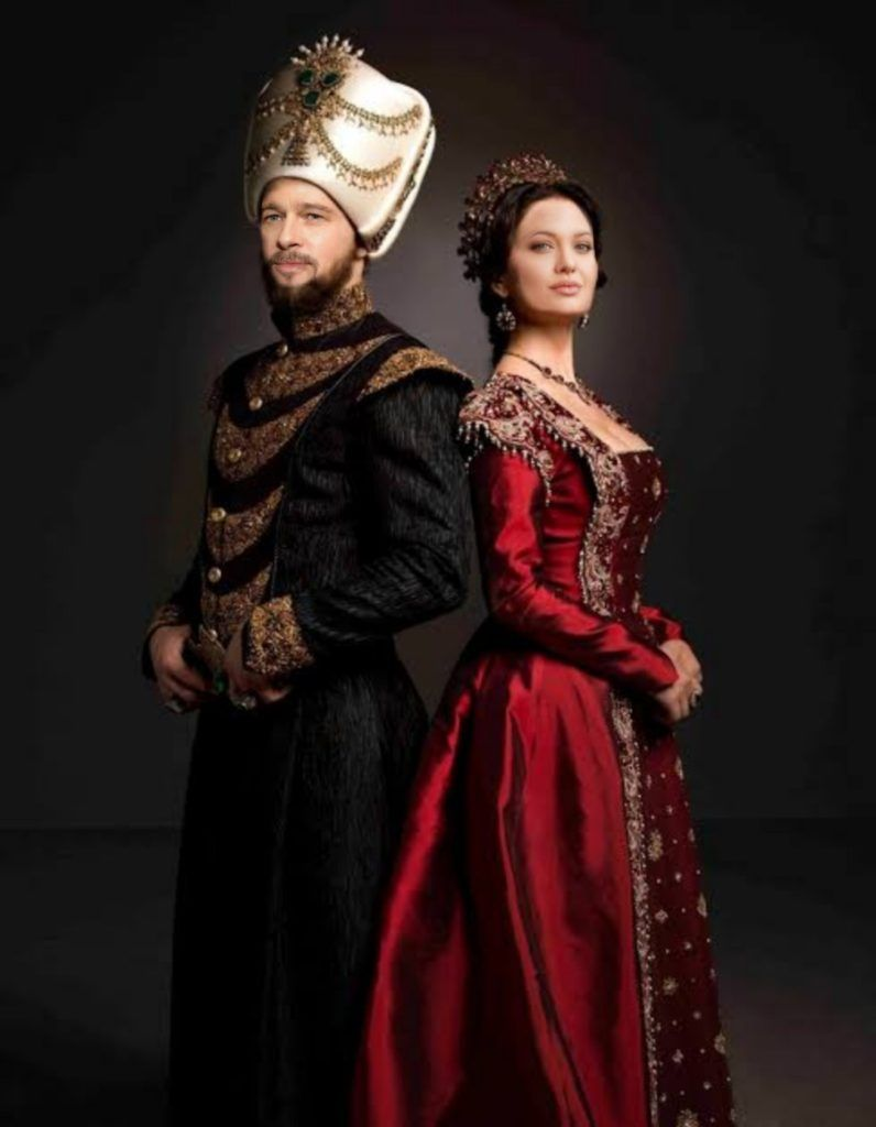 Ottoman Magnificent Century Brad Pitt Angelina Jolie Turkish Fashion Medieval Dress Fashion