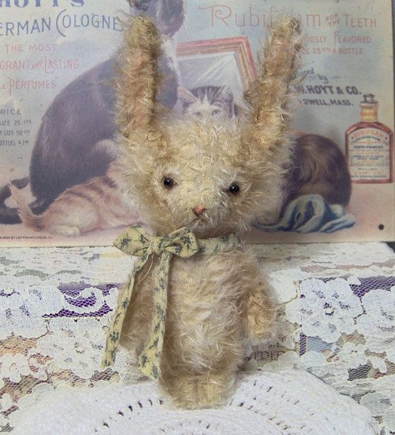 Rabbit Sewing Pattern Pdf Digital Bunny Primitive Etsy
