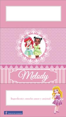 Princesas pequeñas - Página web de diseñokitdecumpleaños