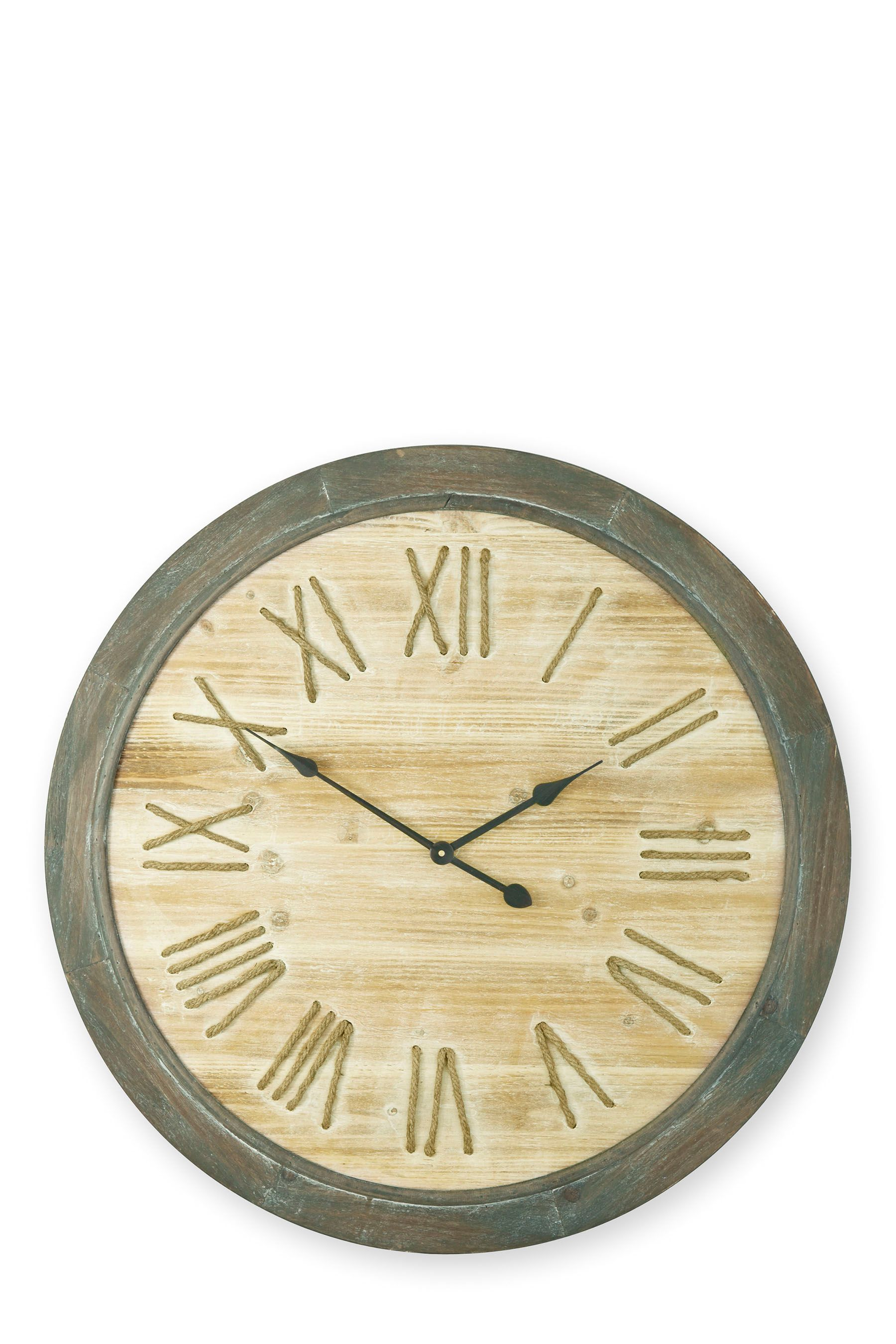 Buy Wooden Rope Clock from the Next UK online shop | Home ...