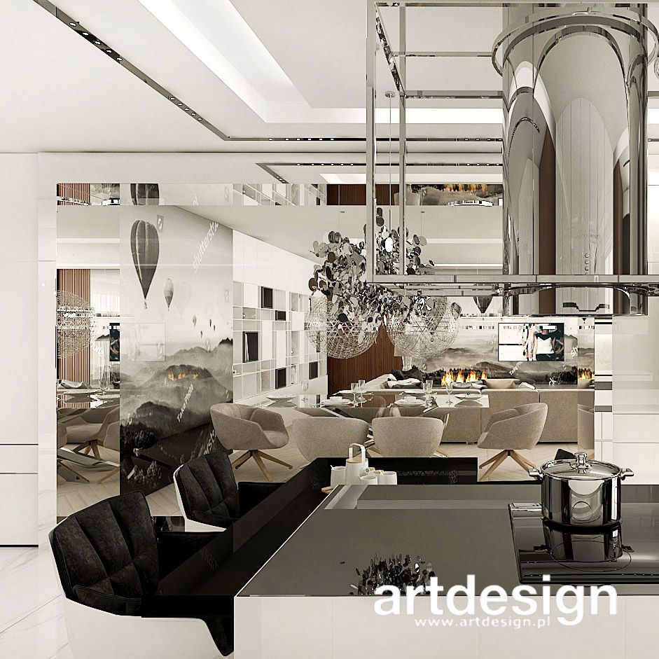 Otwarta Kuchnia Dreams And Fantasies Wnetrza Apartamentu Home Room Home Decor
