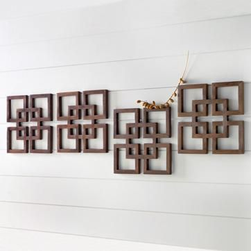 Overlapping Squares Wood Wall Art   West Elm Part 97