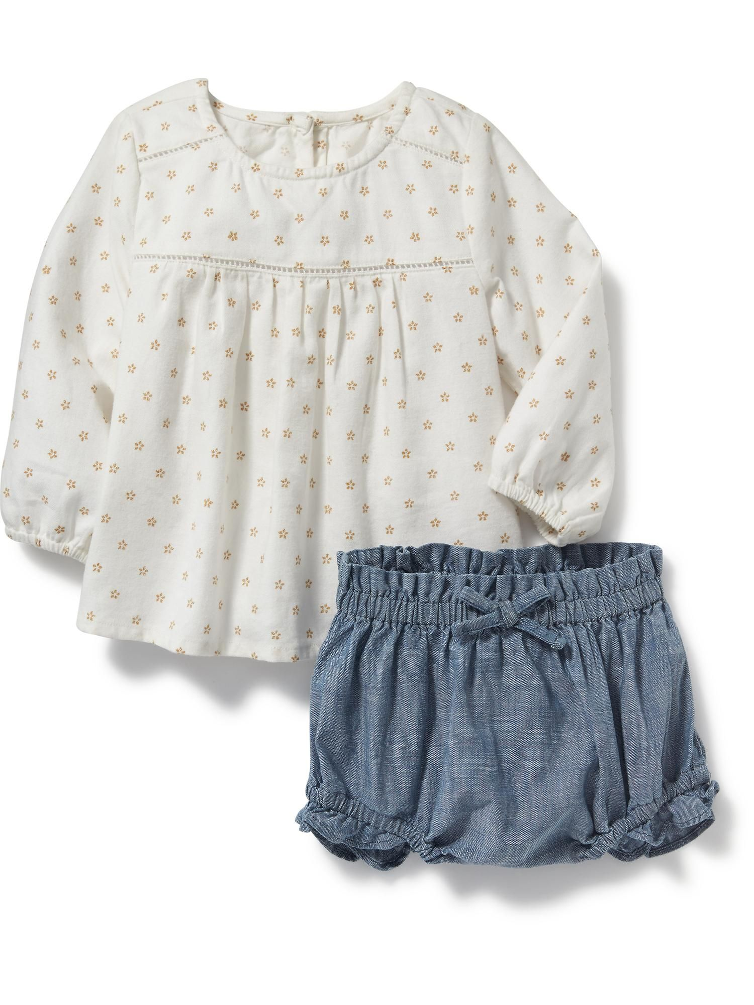 2 Piece Top and Bloomer Set for Baby Old Navy