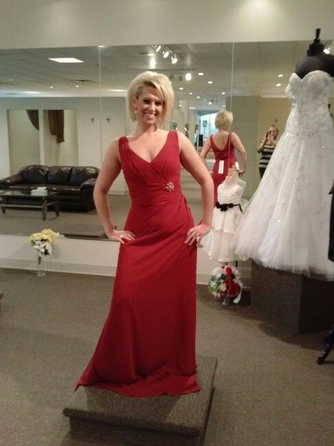 Old Hollywood Bridesmaid Dress