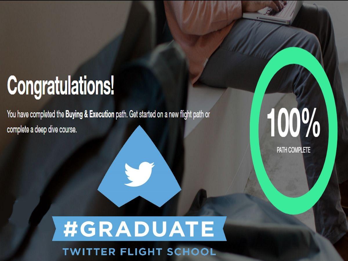 Woohoo I Completed Twitter Flight School Now Am Certified In How