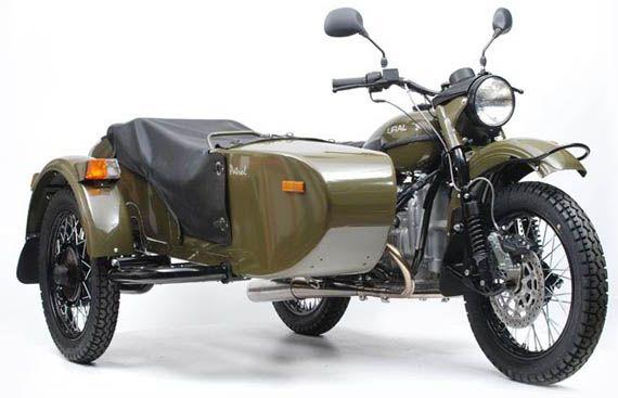 Ural Patrol T Sidecar Motorcycle