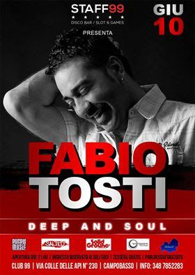 Molise LIVE: VEN10GIU FABIO TOSTI live at CLUB 99 (CB)