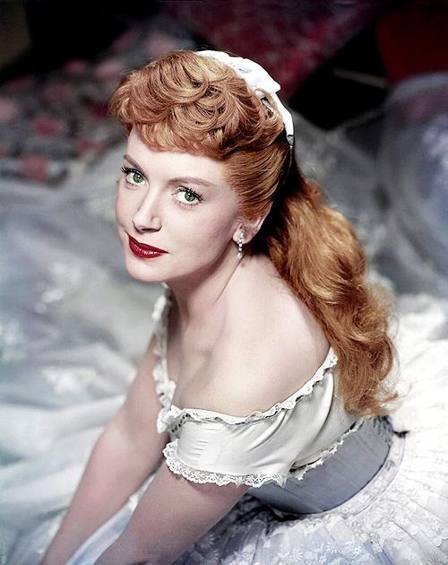 Deborah Kerr in a publicity still for The King and I, 1956.