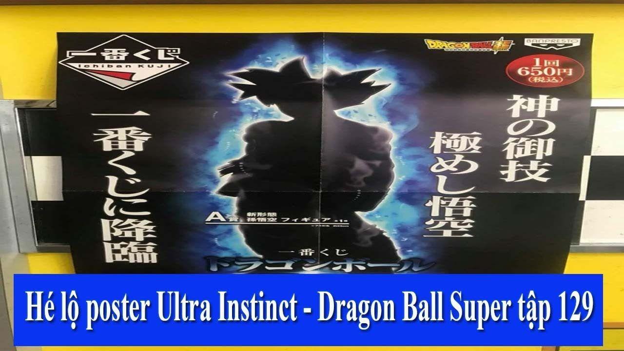 Hé Lộ Hình Ảnh Bản Năng Vô Cực Tối Thượng - Dragon Ball Super Tập 129