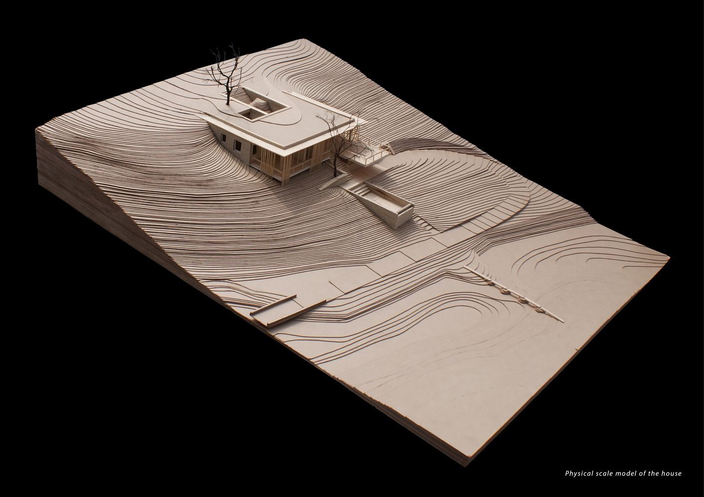 Architecture House Model gallery of the riparian house / architecture brio - 21 | house