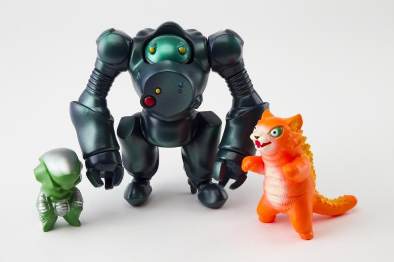 art toy large robot figure - Google Search
