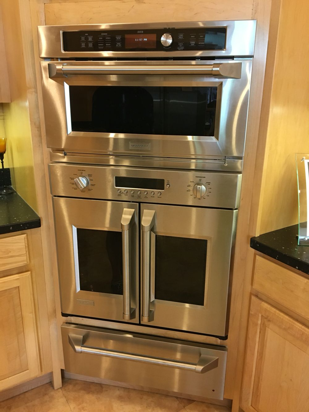 For Our Next Kitchen Combo Conv Microwave French Door Oven And