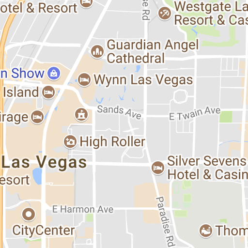 Las Vegas Interactive Map Smartervegas™ Pinterest: Las Vegas Interactive Map At Infoasik.co