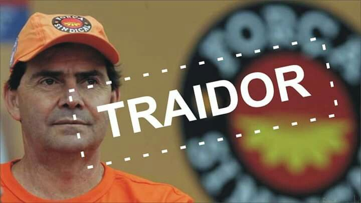 Pelego Paulinho da Força, canalha, traidor dos trabalhadores.