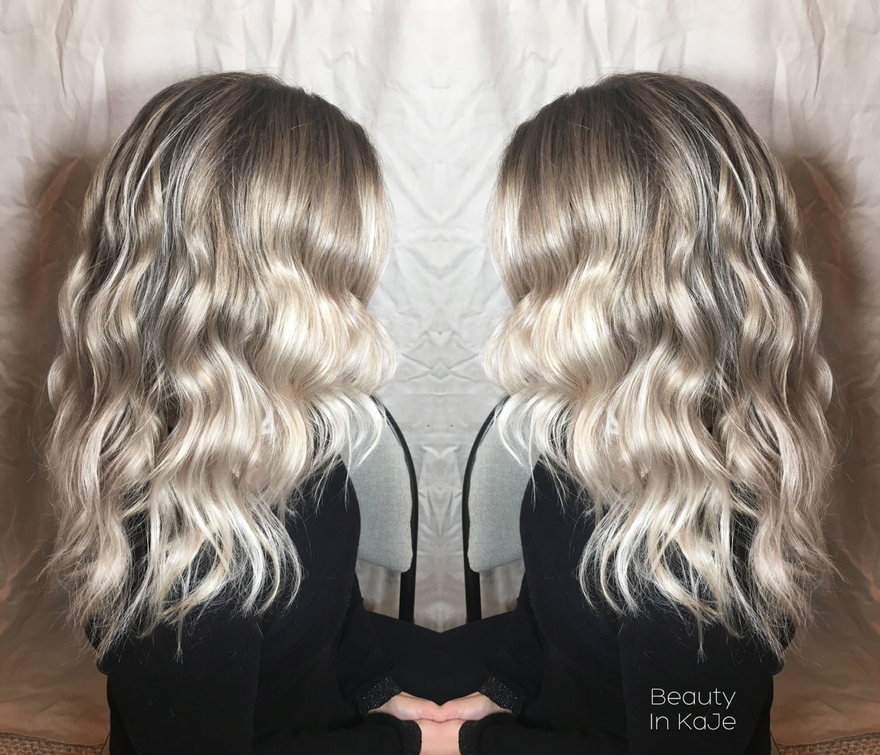 Pin by Beauty In KaJe on Blonde  Icy  Silver Hair goal  from