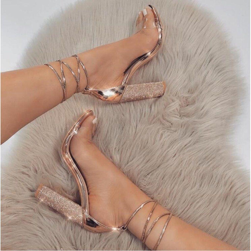 28e99ce4e6b2c Women Sandals Fashion Strap Sandal Sexy High Heel Party Dress Sandalias  Summer Style Casual Shoes