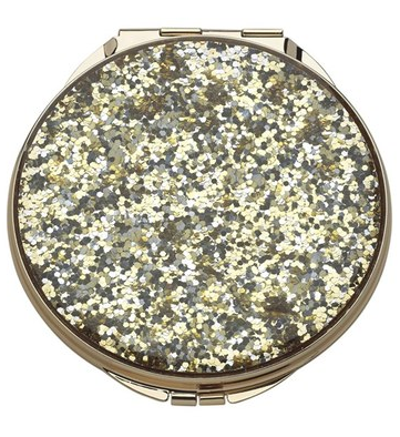 Kate Spade New York Glitter Compact