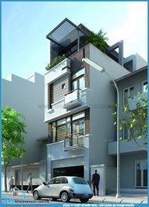 Mẫu mặt tiền nhà phố đẹp 2014 (Phần 1) | Công ty Xây dựng An Thuận Phước