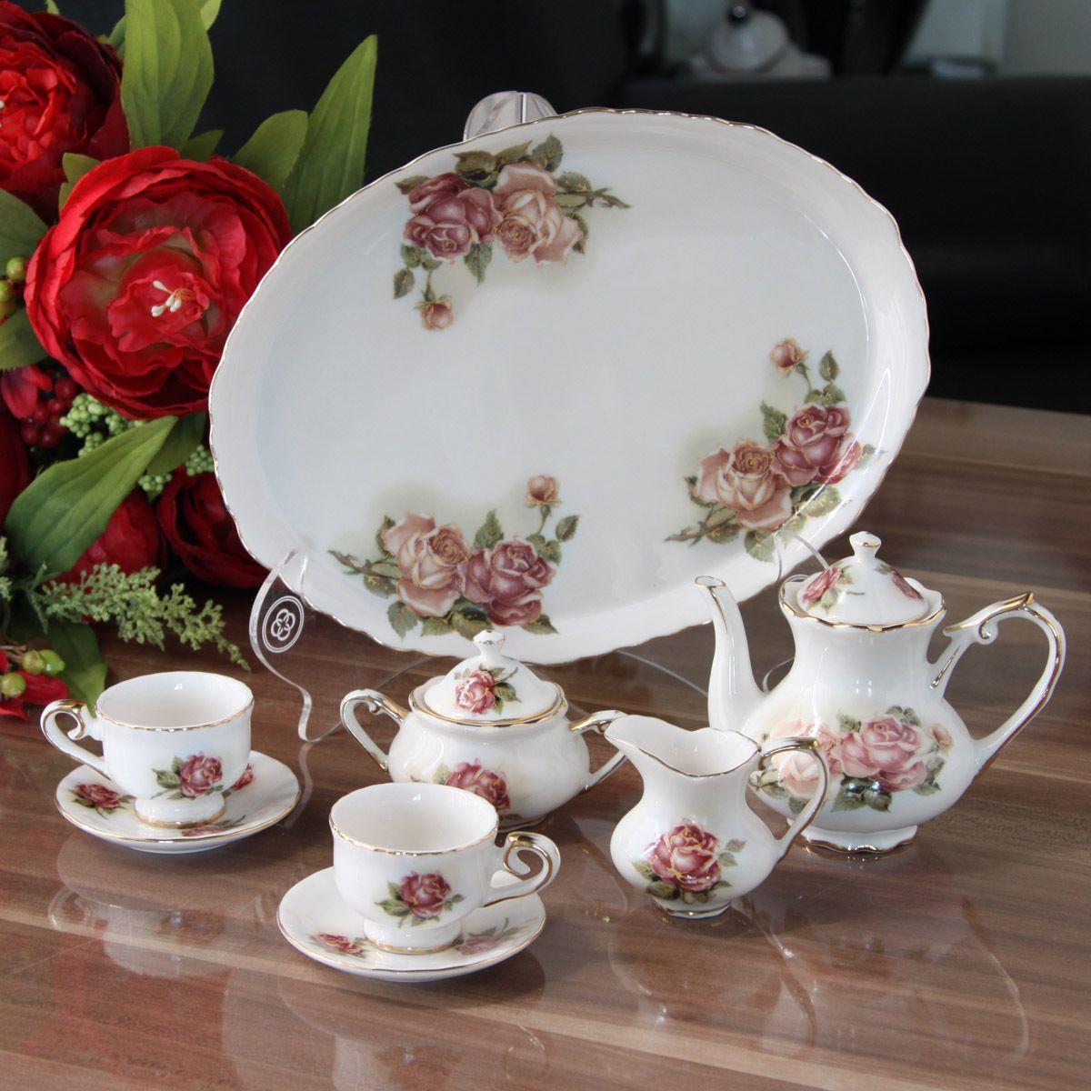 double ok tea | porcelana mini juegos de té de olla el azúcar de la leche teaberries ...