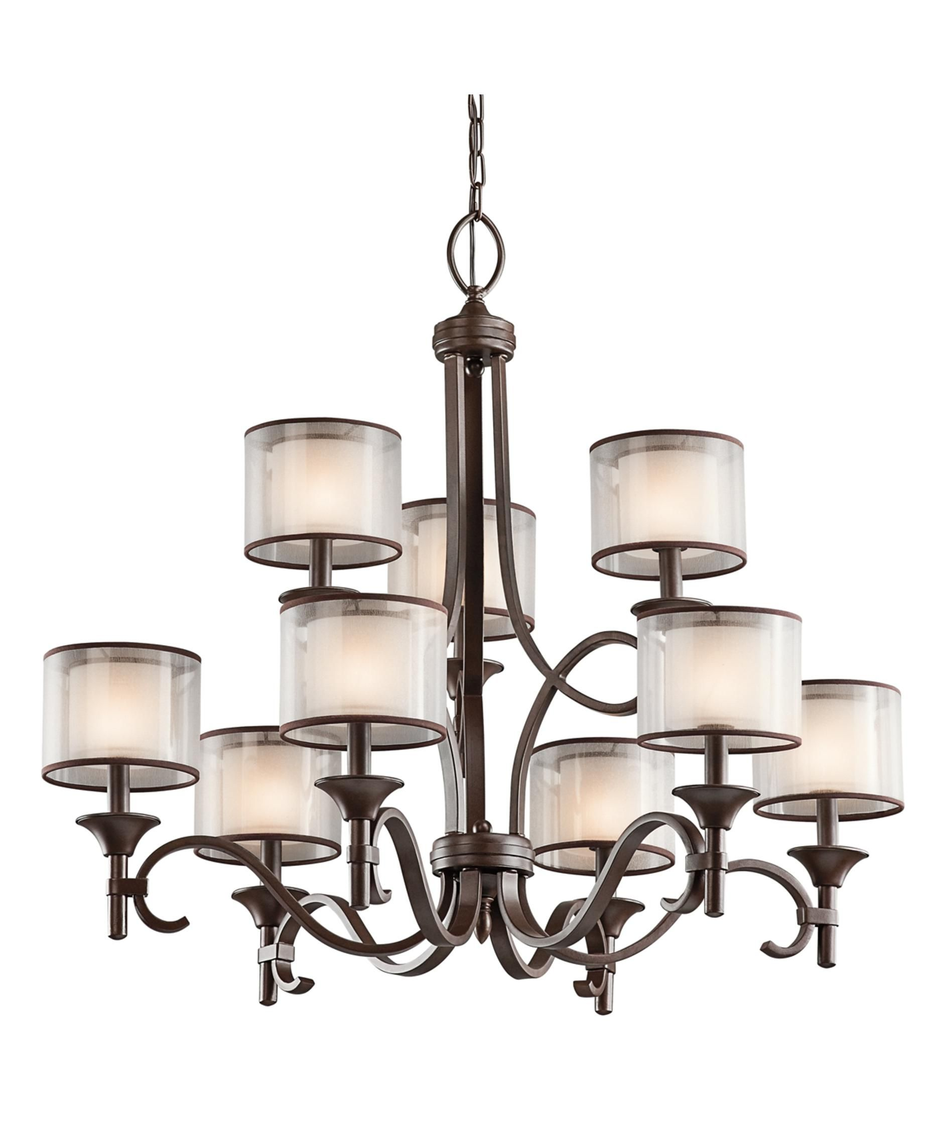 Lacey 34 Inch 9 Light Chandelier By Kichler Lighting In 2020