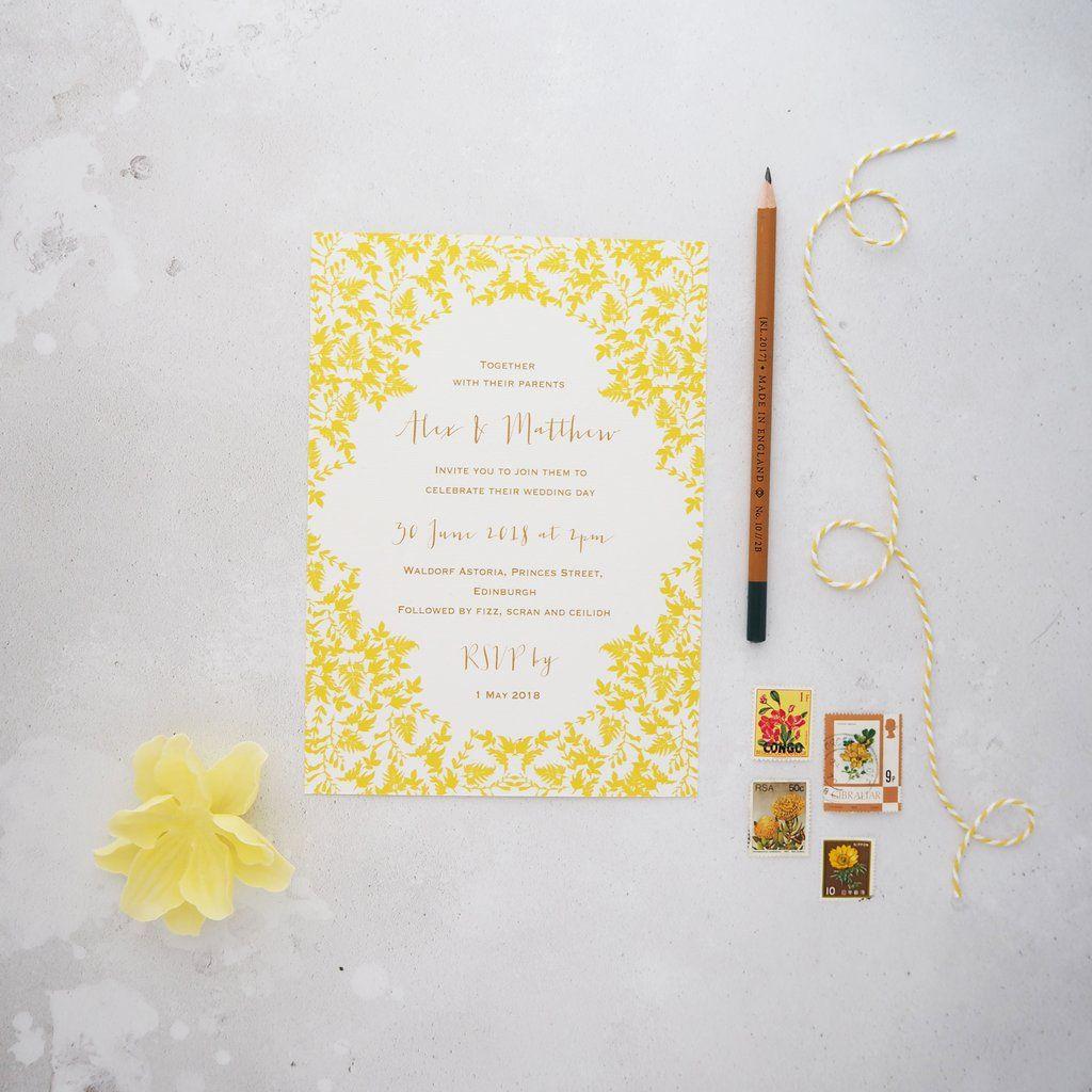Summer Dream Day Wedding Invitations In 2019 What We Do Wedding