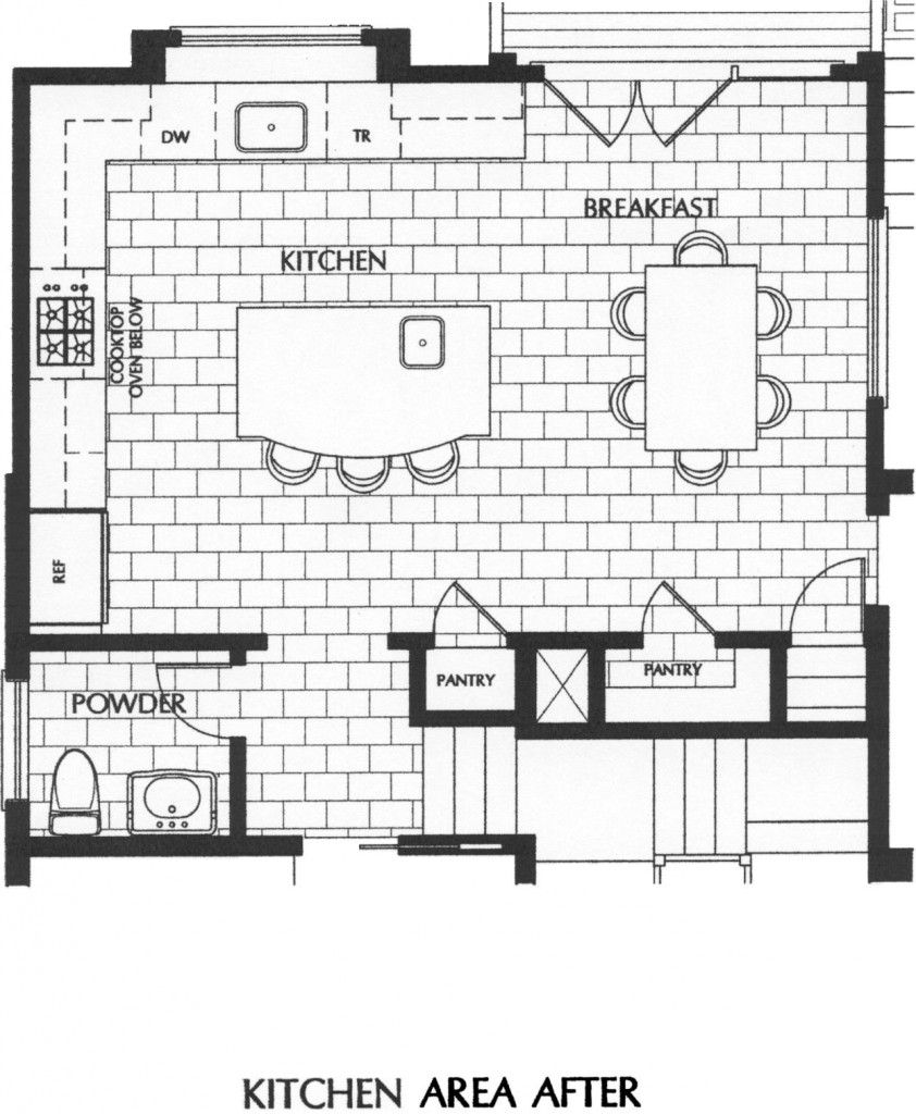 Kitchen plan and layout - L Shaped Island Kitchen Layout Kitchen Layouts L Shaped With Island Google Search