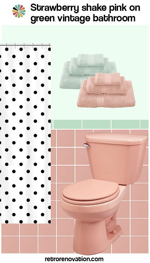 11 Ideas To Decorate A Pink And Green Tile Bathroom Pink