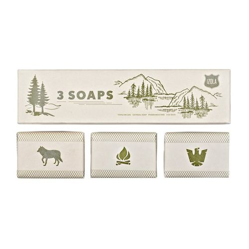 Straw and Gold - Three Soaps:Scout
