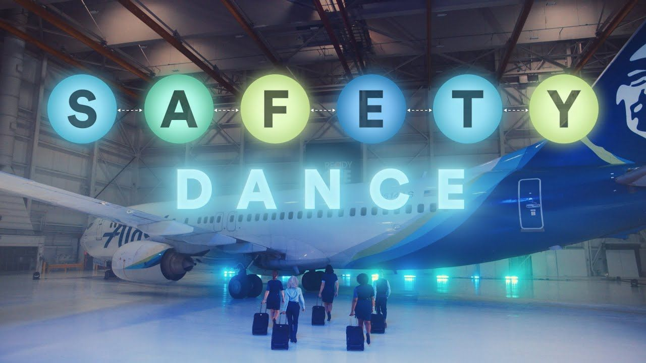 Great Video About Air Travel Safety Guidelines I Hope All Airlines Are Doing The Same Visit Https Www Yo In 2021 Safety Dance Alaska Airlines Airline Safety Video
