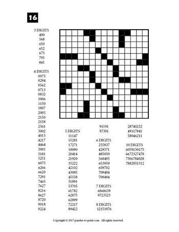 Pin on Fill in puzzles