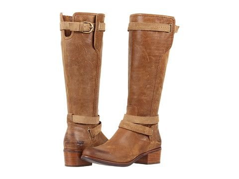 Ugg Darcie Chestnut Leather Boots Very Nice Looking Over